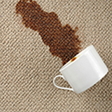 remove coffee from my carpet in Greenville SC